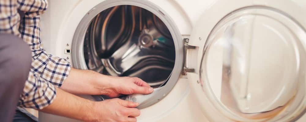 changer le joint de hublot d'un lave-linge