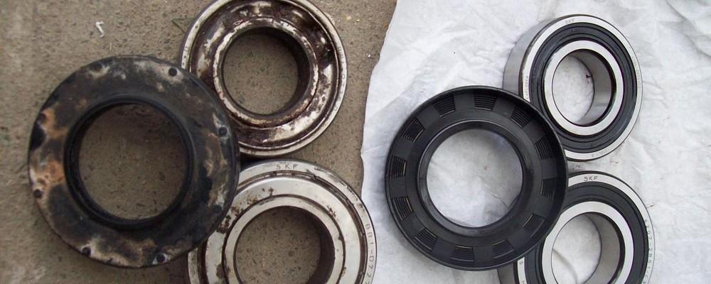 changer les roulements de tambour d'un lave-linge